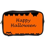 Happy Halloween - owls Toiletries Bags 2-Side Back