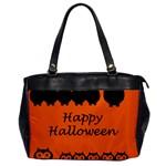 Happy Halloween - owls Office Handbags Front