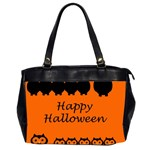 Happy Halloween - owls Office Handbags (2 Sides)  Front