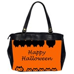 Happy Halloween - owls Office Handbags (2 Sides)  Back