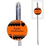 Happy Halloween - owls Book Mark Front
