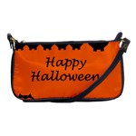 Happy Halloween - owls Shoulder Clutch Bags Front