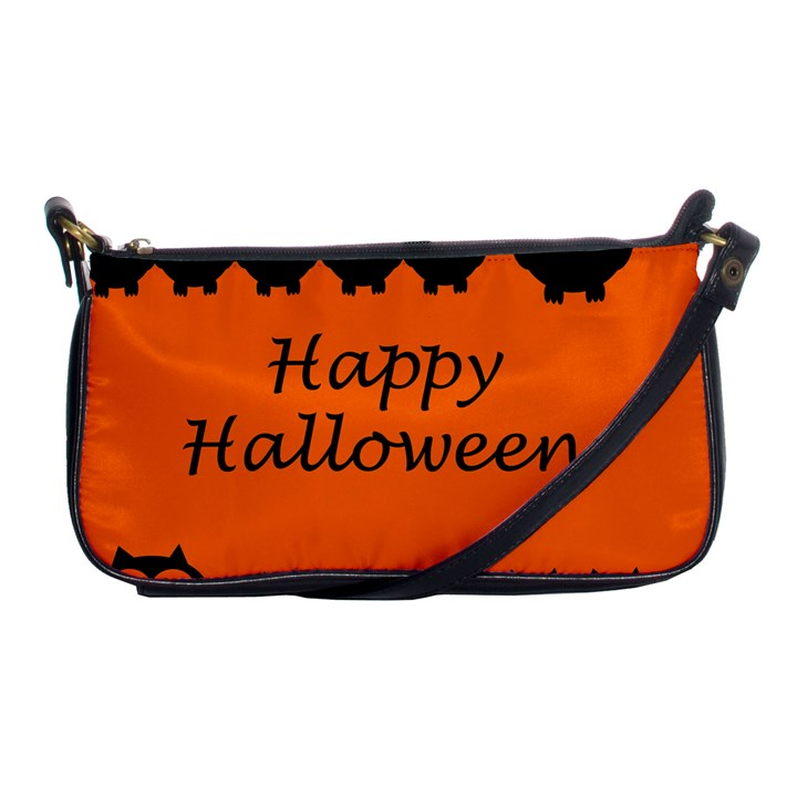 Happy Halloween - owls Shoulder Clutch Bags