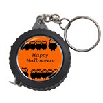 Happy Halloween - owls Measuring Tapes Front