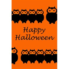 Happy Halloween   Owls 5 5  X 8 5  Notebooks