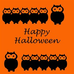 Happy Halloween - owls Magic Photo Cubes