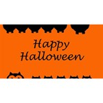 Happy Halloween - owls Magic Photo Cubes Long Side 3