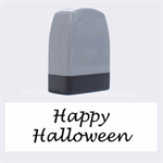 Happy Halloween - owls Name Stamps 1.4 x0.5  Stamp