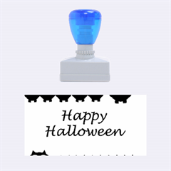 Happy Halloween - owls Rubber Stamps (Medium)