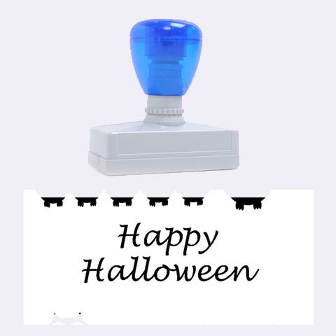 Happy Halloween - owls Rubber Stamps (Large)