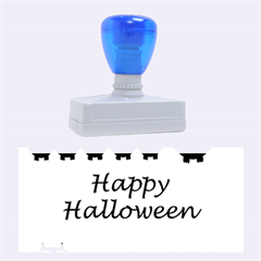 Happy Halloween   Owls Rubber Stamps (large)