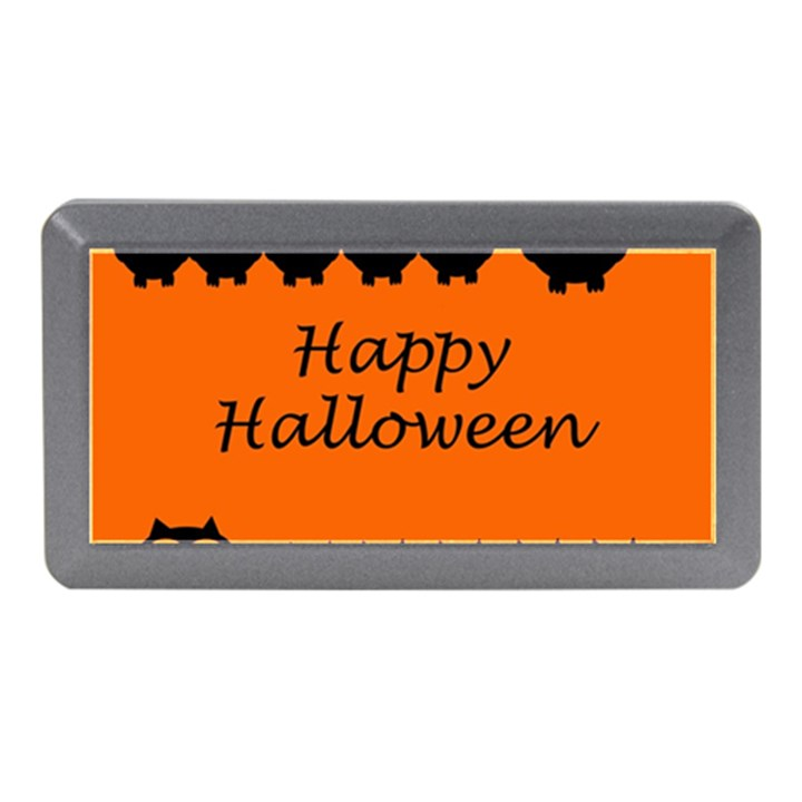 Happy Halloween - owls Memory Card Reader (Mini)
