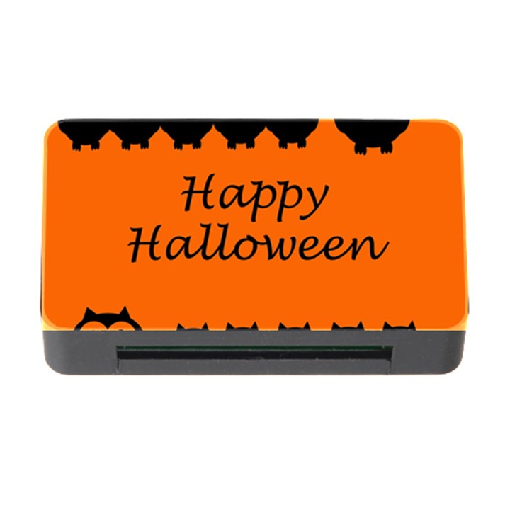 Happy Halloween - owls Memory Card Reader with CF