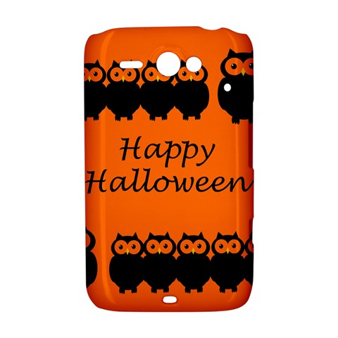 Happy Halloween - owls HTC ChaCha / HTC Status Hardshell Case