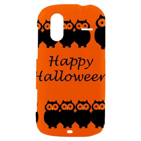 Happy Halloween - owls HTC Amaze 4G Hardshell Case