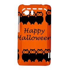 Happy Halloween - owls HTC Vivid / Raider 4G Hardshell Case