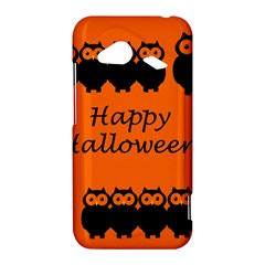 Happy Halloween - owls HTC Droid Incredible 4G LTE Hardshell Case