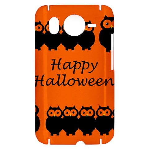 Happy Halloween - owls HTC Desire HD Hardshell Case