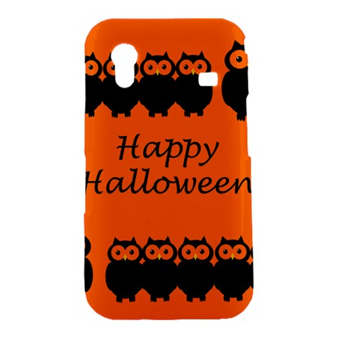Happy Halloween - owls Samsung Galaxy Ace S5830 Hardshell Case