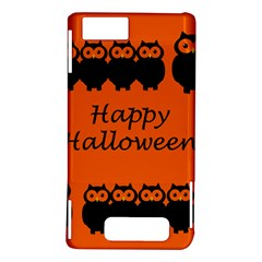 Happy Halloween - owls Motorola DROID X2