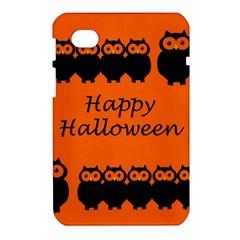 Happy Halloween - owls Samsung Galaxy Tab 7  P1000 Hardshell Case