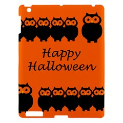 Happy Halloween - owls Apple iPad 3/4 Hardshell Case