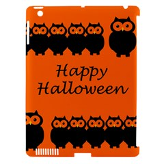 Happy Halloween - owls Apple iPad 3/4 Hardshell Case (Compatible with Smart Cover)