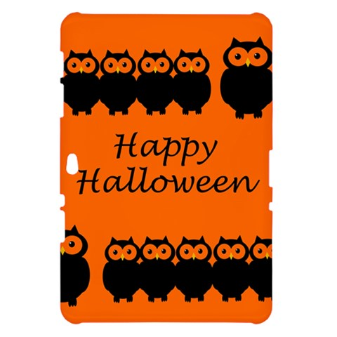 Happy Halloween - owls Samsung Galaxy Tab 10.1  P7500 Hardshell Case