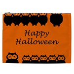 Happy Halloween - owls Cosmetic Bag (XXL)  Front