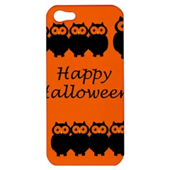 Happy Halloween   Owls Apple Iphone 5 Hardshell Case