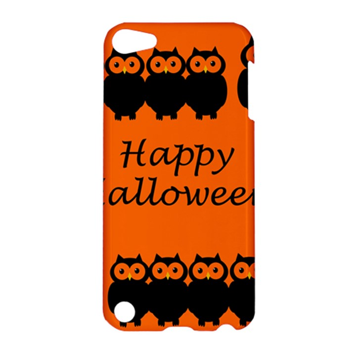 Happy Halloween - owls Apple iPod Touch 5 Hardshell Case