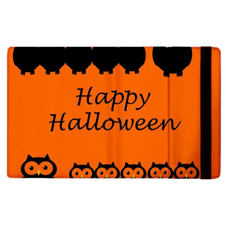 Happy Halloween - owls Apple iPad 2 Flip Case