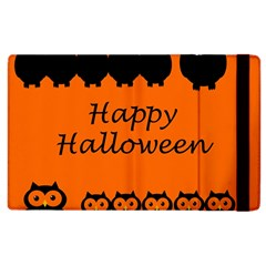 Happy Halloween - owls Apple iPad 3/4 Flip Case