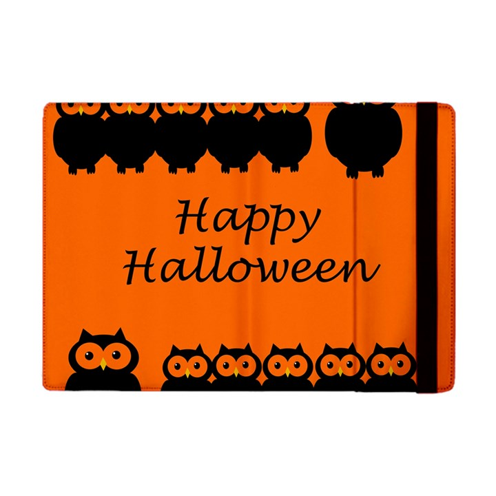 Happy Halloween - owls Apple iPad Mini Flip Case