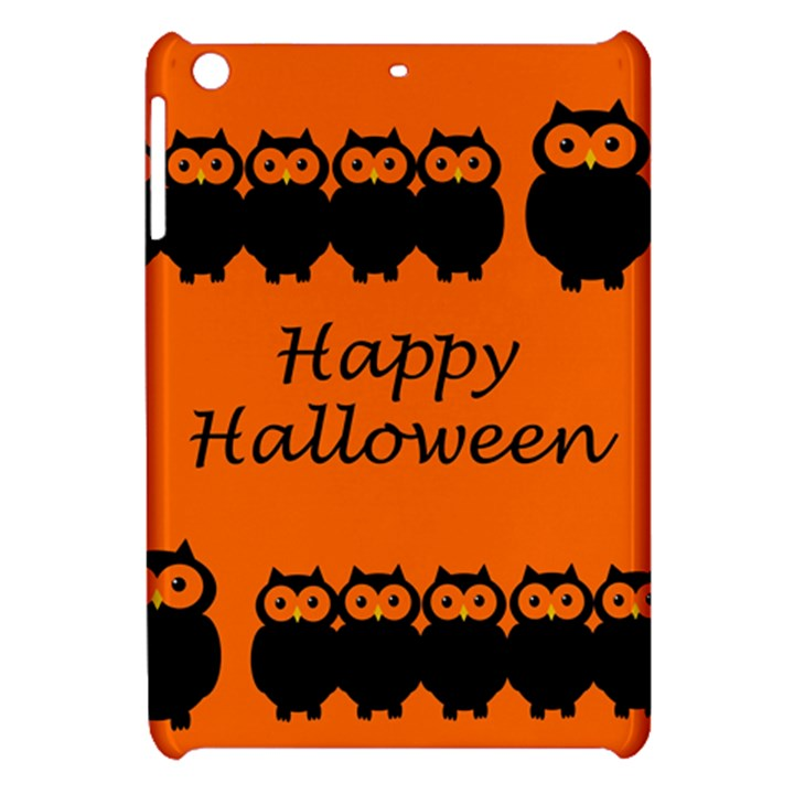 Happy Halloween - owls Apple iPad Mini Hardshell Case