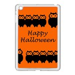 Happy Halloween - owls Apple iPad Mini Case (White) Front