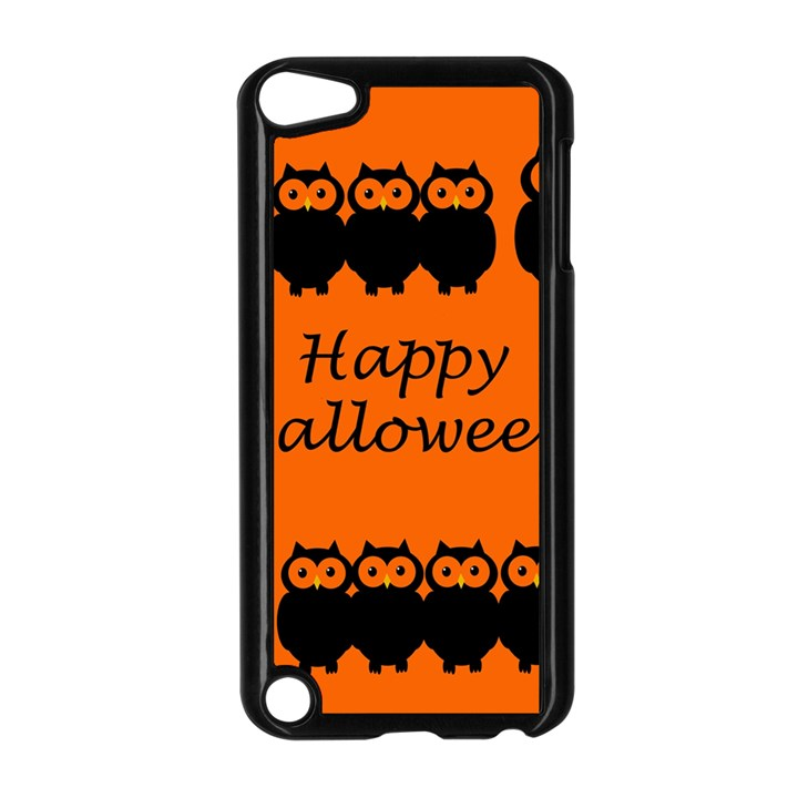 Happy Halloween - owls Apple iPod Touch 5 Case (Black)