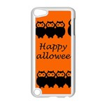 Happy Halloween - owls Apple iPod Touch 5 Case (White) Front