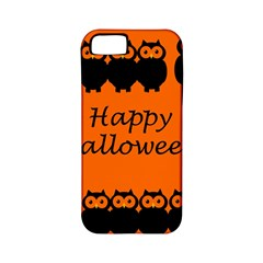 Happy Halloween - owls Apple iPhone 5 Classic Hardshell Case (PC+Silicone)
