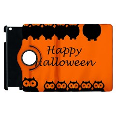 Happy Halloween - owls Apple iPad 2 Flip 360 Case