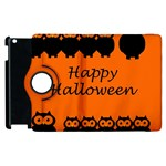 Happy Halloween - owls Apple iPad 3/4 Flip 360 Case Front