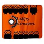 Happy Halloween - owls Samsung Galaxy Note II Flip 360 Case Front