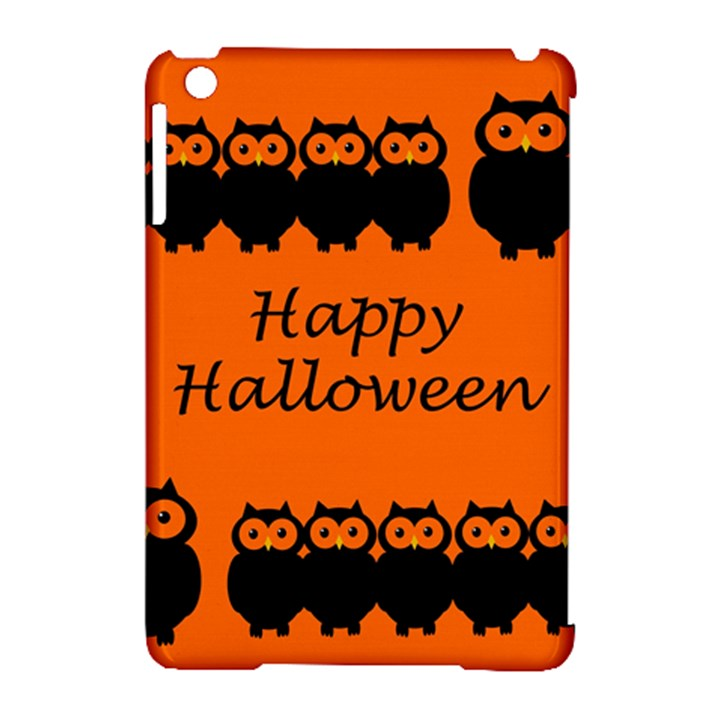 Happy Halloween - owls Apple iPad Mini Hardshell Case (Compatible with Smart Cover)