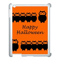 Happy Halloween - owls Apple iPad 3/4 Case (White)