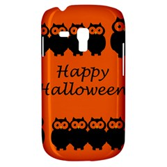 Happy Halloween - owls Samsung Galaxy S3 MINI I8190 Hardshell Case