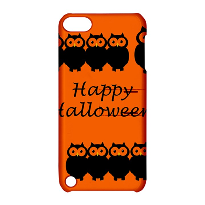 Happy Halloween - owls Apple iPod Touch 5 Hardshell Case with Stand