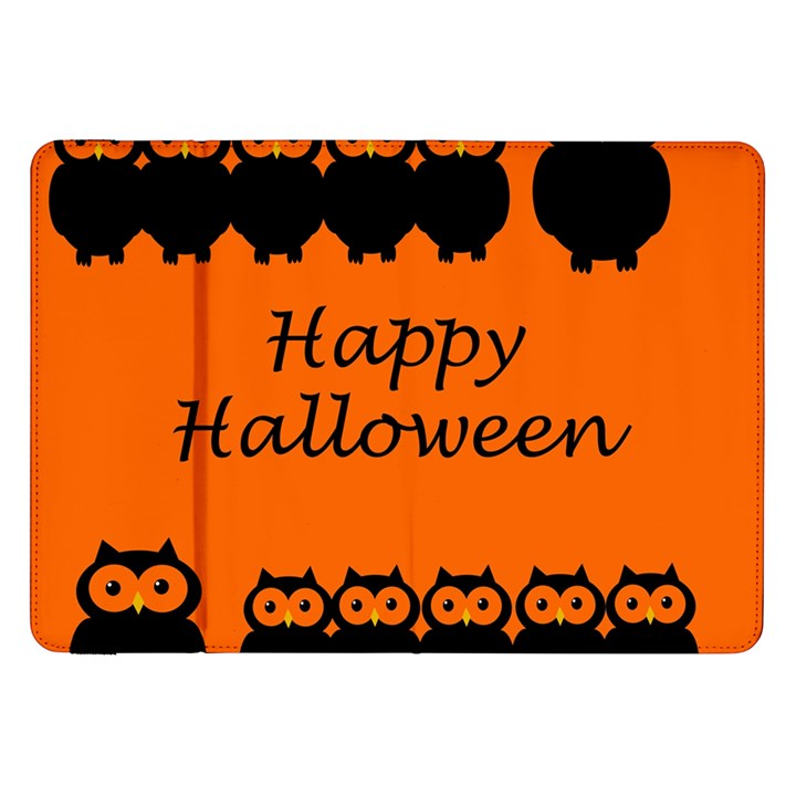 Happy Halloween - owls Samsung Galaxy Tab 8.9  P7300 Flip Case