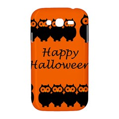 Happy Halloween - owls Samsung Galaxy Grand DUOS I9082 Hardshell Case