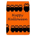 Happy Halloween - owls Flap Covers (S)  Front