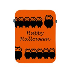 Happy Halloween - owls Apple iPad 2/3/4 Protective Soft Cases